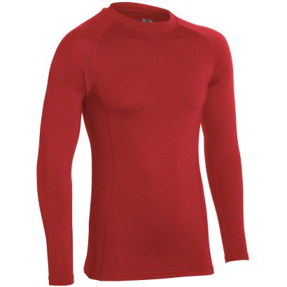 Unbranded Teamwear Baselayer Top Red Kids - Front