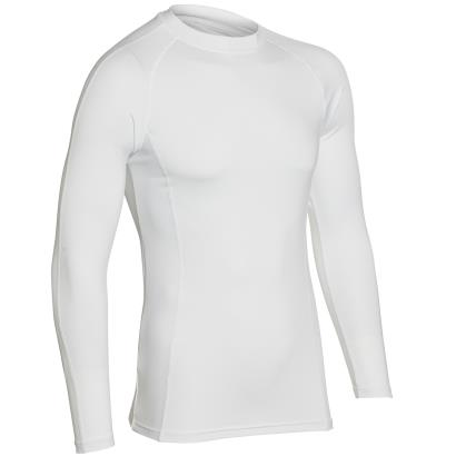 Unbranded Teamwear Baselayer Top White Kids - Front