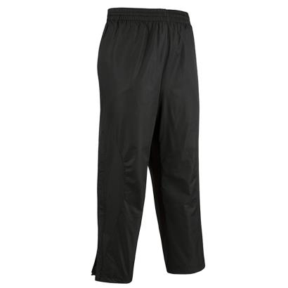 Unbranded Teamwear Elite Showerproof Pants Black Kids front