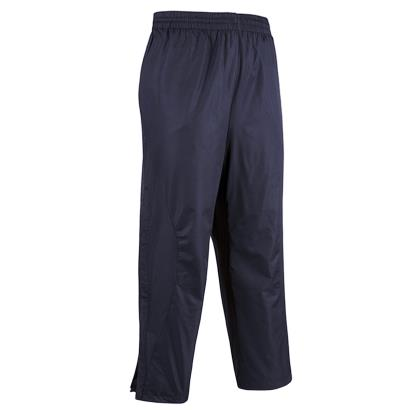 Unbranded Teamwear Elite Showerproof Pants Navy - Front