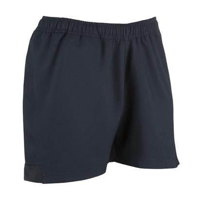 Unbranded Teamwear Pro Rugby Shorts Navy - Front