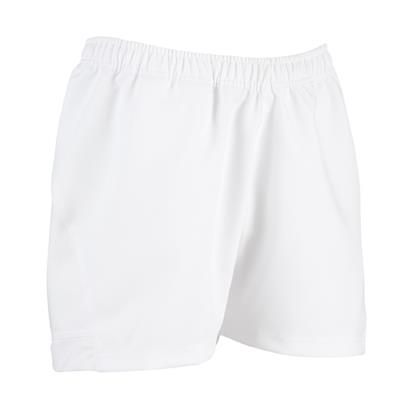 Unbranded Teamwear Pro Rugby Shorts White Kids - Front