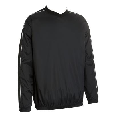 Unbranded Teamwear Budget Training Top Black - Front