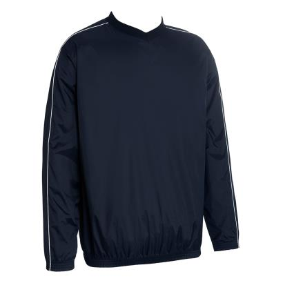 Unbranded Teamwear Budget Training Top Navy - Front