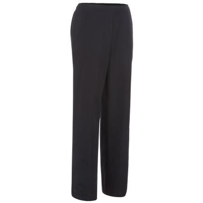 Unbranded Teamwear Ladies Classic Stadium Pants Black - Front