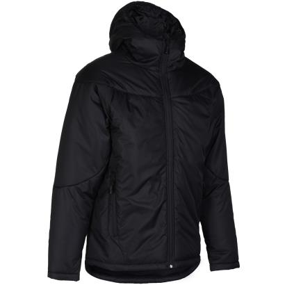 Unbranded Teamwear Contoured Thermal Jacket Black - Front