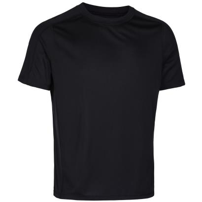 Unbranded Teamwear Technical Tee Black - Front