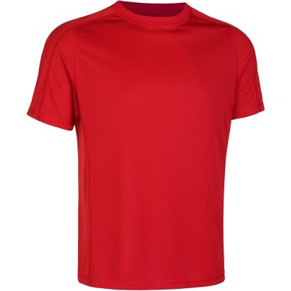 Unbranded Teamwear Technical Tee Red - Front
