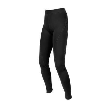 Unbranded Teamwear Girls Power Stretch Leggings Black - Front