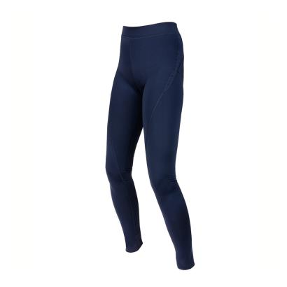 Unbranded Teamwear Girls Power Stretch Leggings Navy - Front