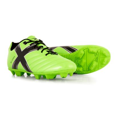 X Blades Legend Flash Cyber Boots Green Flash - Front