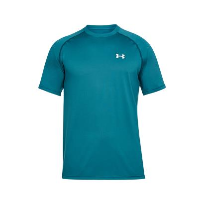 Under Armour Tech Tee Tourmaline Teal - Front