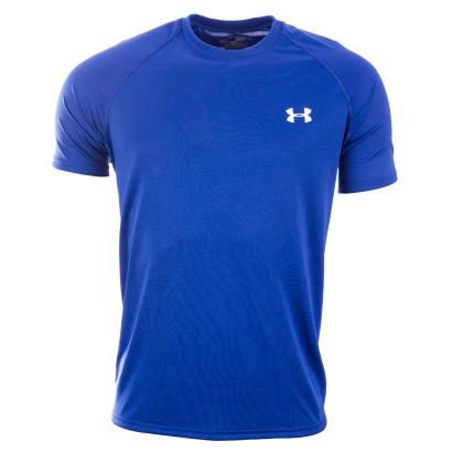 Under Armour Tech Tee Royal - Front
