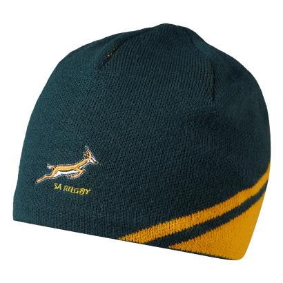 South Africa Gameday Beanie Bottle Green 2016 - Front