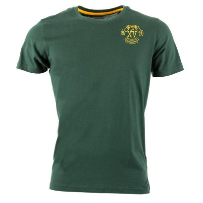 South Africa XV Tee Bottle Green 2016 - Front