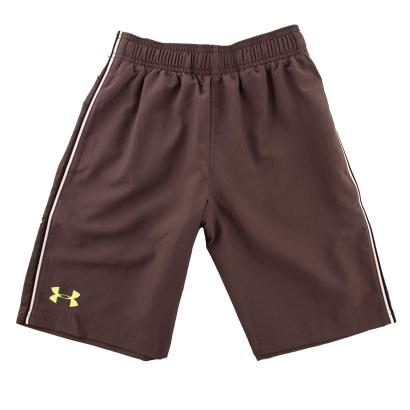 Under Armour Edge Shorts Charcoal Kids - Front