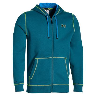 Under Armour Storm Cotton Full Zip Hoody Legion Blue - Front