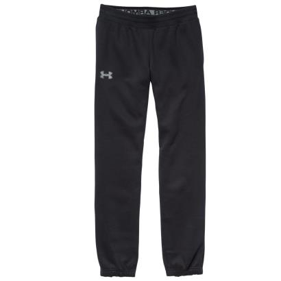 Under Armour Storm Cotton Pants Black Kids - Front