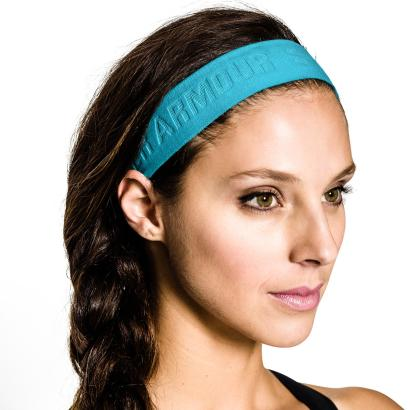 Under Armour Ladies Armourgrip Headband Island Blue - Detail 1