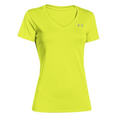 Under Armour Ladies Tech Tee Flashlight - Front