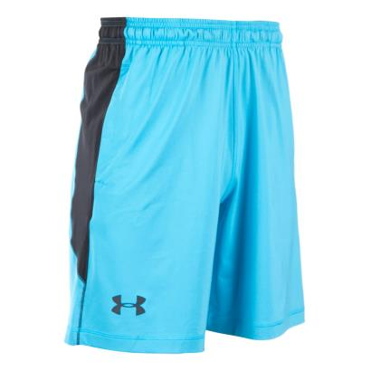 Under Armour Raid Shorts Meridian Blue - Front 1