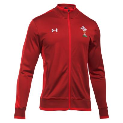 Wales Track Jacket Daredevil Red 2018 - Front