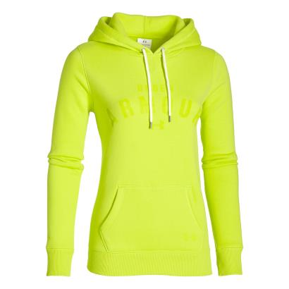 Under Armour Ladies Storm Rival Pullover Hoody Flash Light - Front