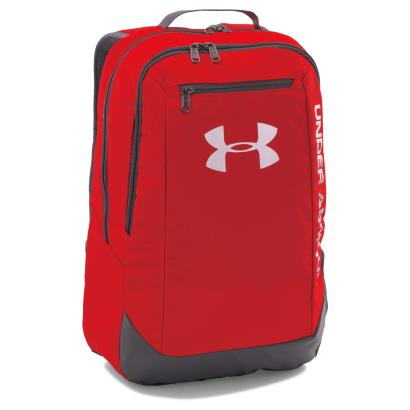 Under Armour Hustle Backpack Red - Front