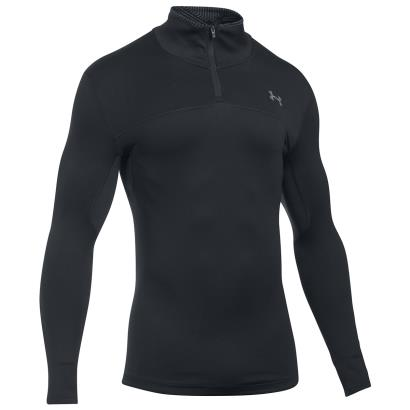Under Armour Coldgear Infrared Storm 1/4 Zip Black - Front