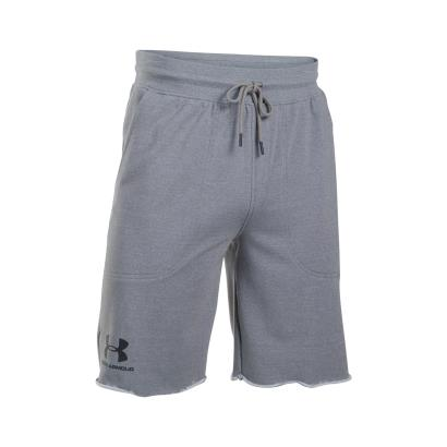 Under Armour Sportstyle Terry Shorts Greyhound - Front