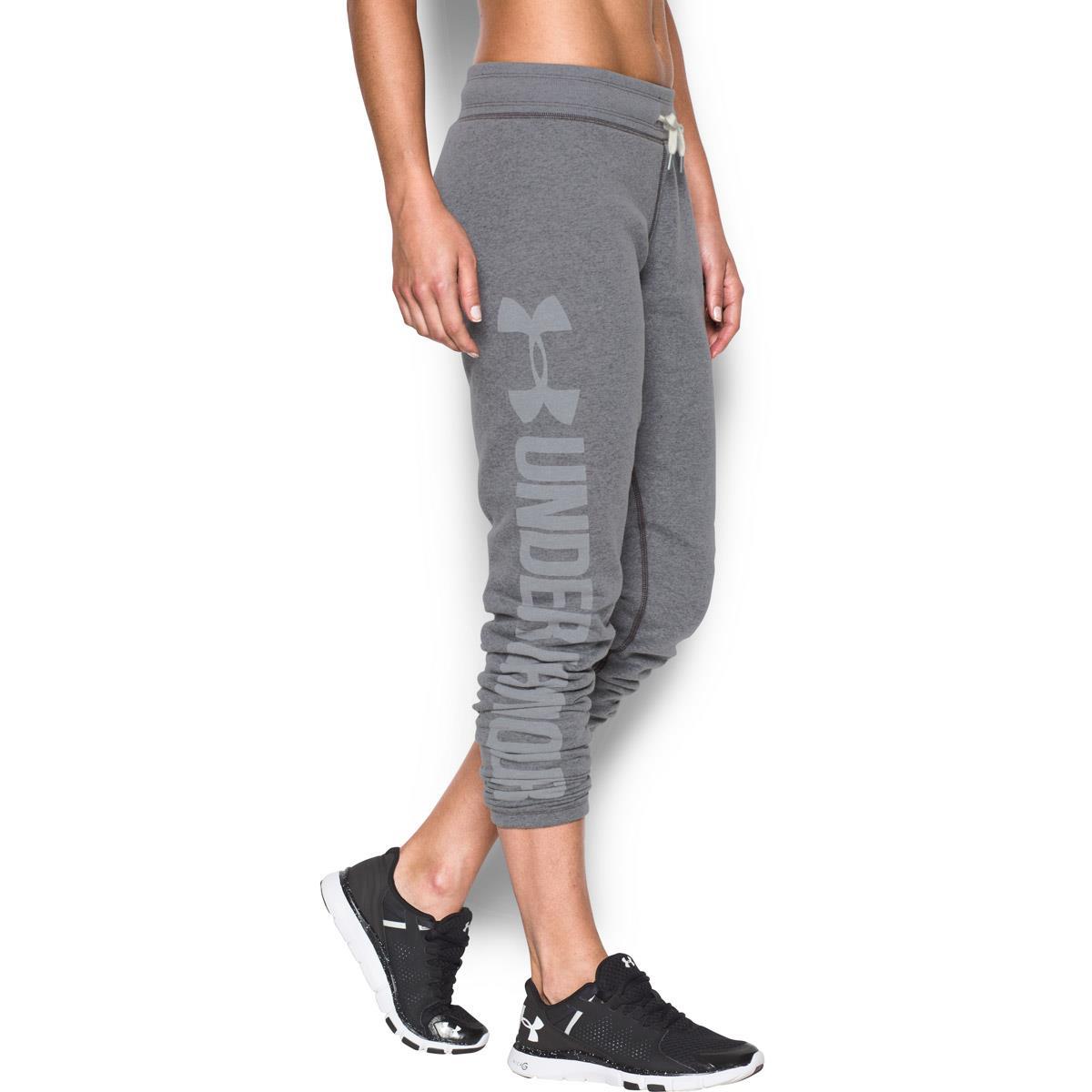 88b8805f8689 ... Under Armour Ladies Favourite Fleece Pants Carbon - Detail 2 ...