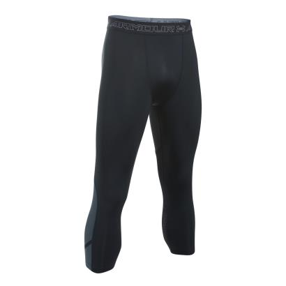 Under Armour Heatgear Supervent 3/4 Compression Leggings Black - Front