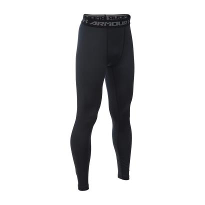 Under Armour Coldgear Armour Leggings Black Kids - Front