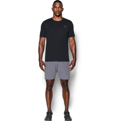Under Armour Threadborne Fitted Tee Black - Model 1