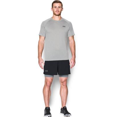 Under Armour Qualifier 2 in 1 Shorts Black - Model 1