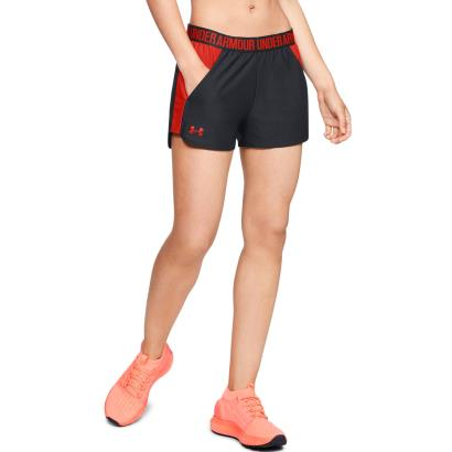 Under Armour Ladies 2.0 Play Up Shorts Black - Model 1