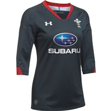Wales Ladies Supporters Alternate 3/4 Sleeve Rugby Shirt 2018 -