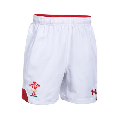 Wales Supporters Home Rugby Shorts Kids 2018 - Front
