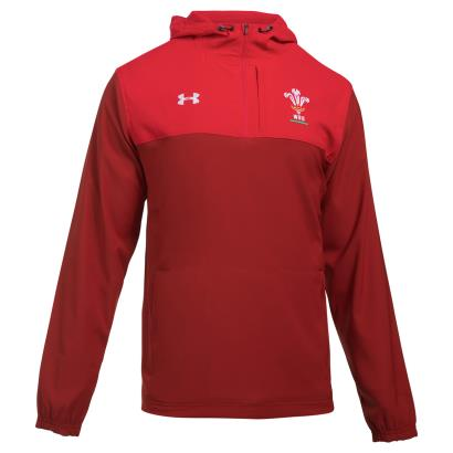 Wales Supporters Jacket Daredevil Red 2018 - Front
