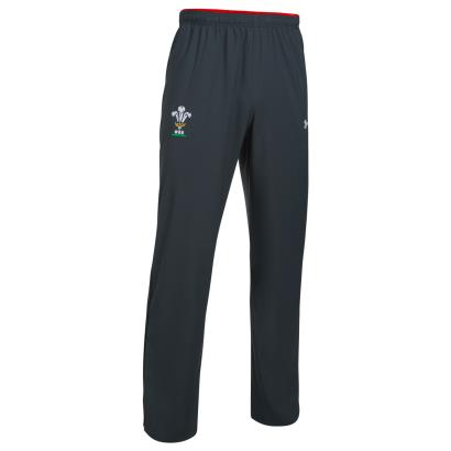 Wales Supporters Track Pants Anthracite 2018 - Front