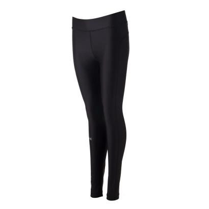 Under Armour Womens Heatgear Compression Leggings Black - Front 1