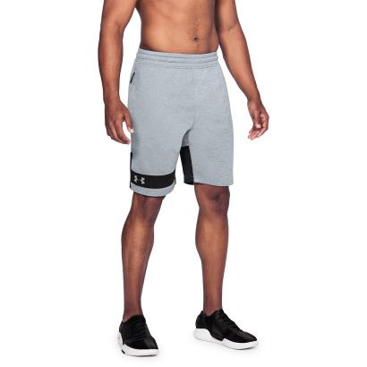 Under Armour Tech Terry Shorts Steel - Model 1