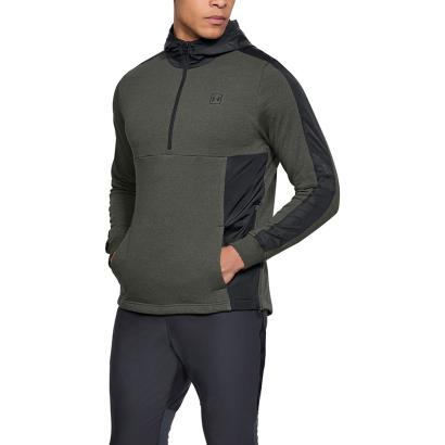 Under Armour Threadborne Terry Pullover Hoodie Artillery Green - Model 1