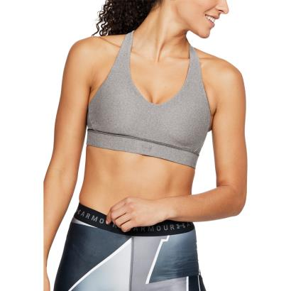 1311814-019	Under Armour Ladies Vanish Sports Bra Charcoal Fade Heather - Model 1