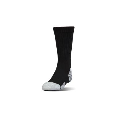 Under Armour Crew Socks Black Kids - Front
