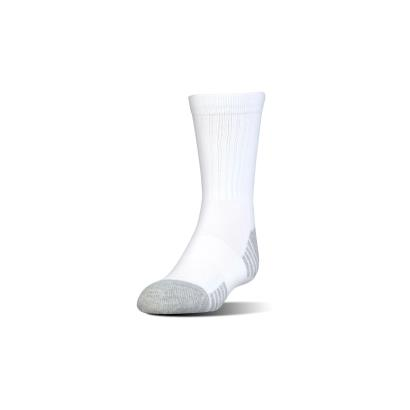 Under Armour Crew Socks White Kids - Front