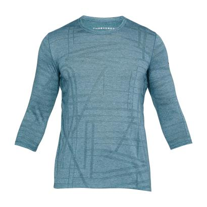 Under Armour Threadborne Utility 3/4 Tee Tourmaline Teal - Front
