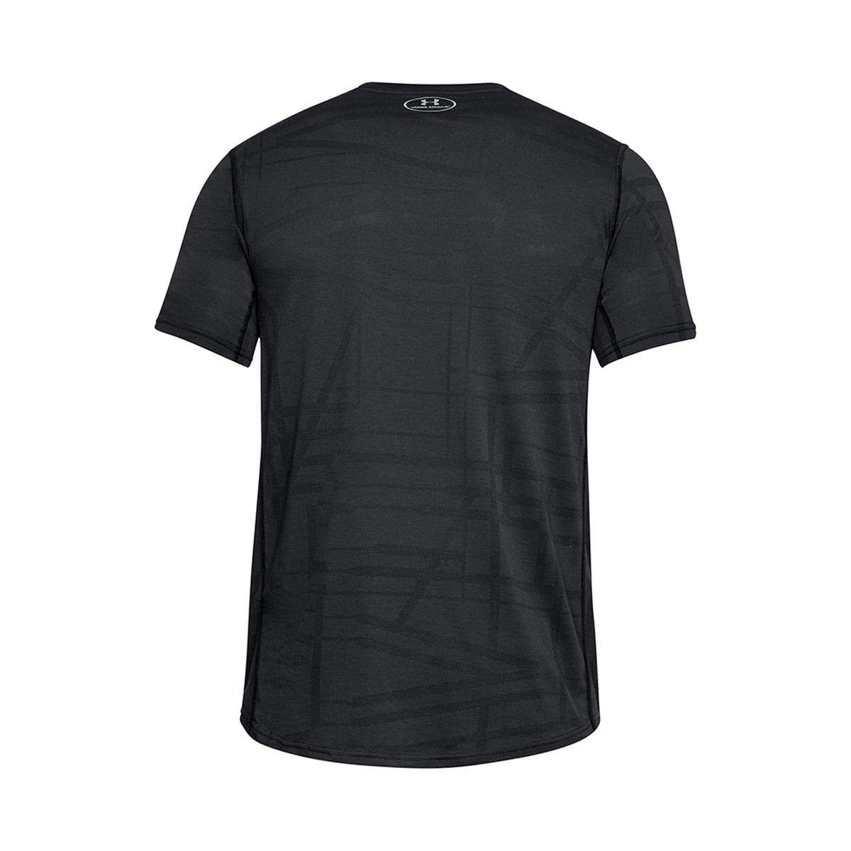 3252b35c57f Mens Black Under Armour Threadborne Elite Tee Shirt   rugbystore