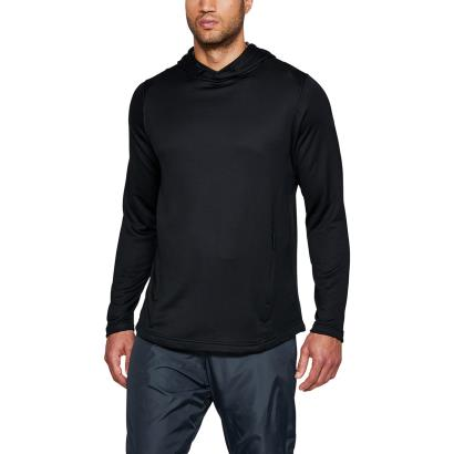 Under Armour Tech Terry Pullover Hoodie Black - Model 1
