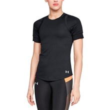 Under Armour Ladies Hexdelta Tee Black - Model 1